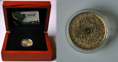 "The Netherlands - 10 Euro coin 2011, ""50 years WWF"" - gold."