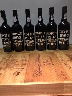 1995 Vintage Port Kopke - 6 bottles (75cl)