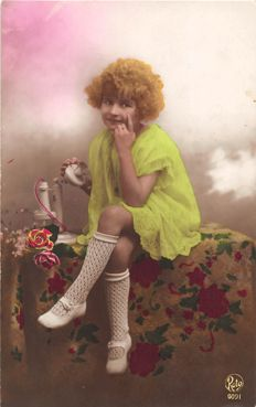 194x-old postcards with a lot of fantasy and romance