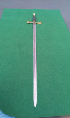 19th Century American Masonic Sword with Shagreen (shark skin) Grip