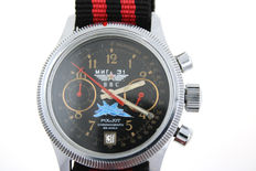 POLJOT military chronograph - men's automatic watch