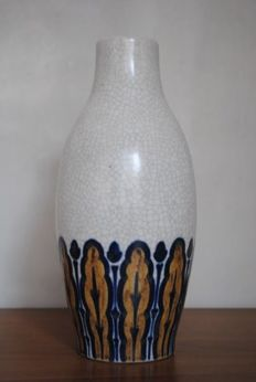 Charles Catteau for Grès Keramis - Pomone - crackled enamel vase