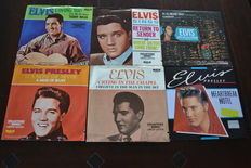 Elvis Presley, a lot of 17 singles all in picture sleeve