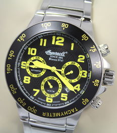 Ingersoll Bison No 67 IN1512BKMB – Men's Automatic Chronograph - Limited Edition - Watch – unworn
