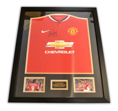 Radamel Falcao - Awesome signed and framed Man United shirt + signed photo + Certificate of Authenticity's.