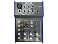 A LOT CONSISTING OF A 3 CHANNELS COMPACT PASSIVE MIXER WITH PHANTOM - NEW