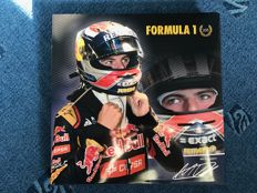 Max Verstappen - Yearbook F1 2015 Limited Edition hand-signed by Max Verstappen