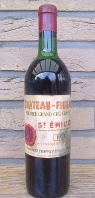 1971 Chateau Figeac, Saint Emilion Premier Grand Cru Classé – 1 bottle