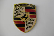 Big Porsche Logo with 100/77 cm