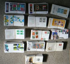 The Netherlands – box with approx. 1300 FDCs