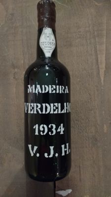 1934 Verdelho Madeira Justino's - Portugal - bottled in 1995