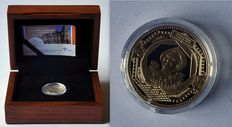 "The Netherlands - 10 Euro coin 2011, ""100 years Mint building"" - gold."