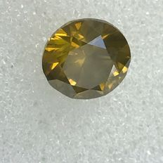 1.00 ct Brilian cut FANCY Diamond BEAUTIFUL COLOR  VS2 **NO RESERVE PRICE**
