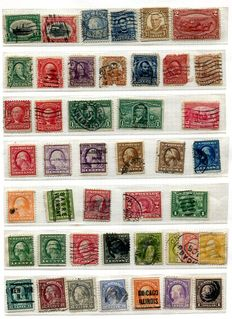 U.S.A. 1850's - 1981 - collection on 70 album pages, including blocks and booklet panes.
