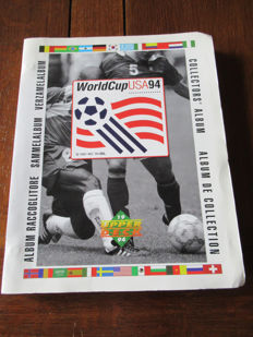 Variant of Panini - Upper Deck - World Cup U.S.A. 1994 - Complete album + 100 duplicate cards..