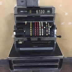 National - cash register - mid-20th century