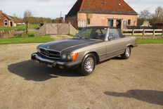 Mercedes-Benz - 380 sl roadster - 1981