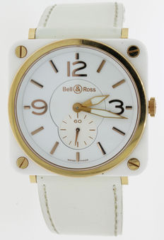 Bell & Ross - Ceramic & Gold - Ladie's watch