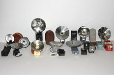 Lot of bulb flashes