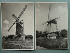 The Netherlands 1939 – Photo postcards of Mills, G.  254 complete + various