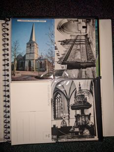 More than 1500 postcards with churches as a theme