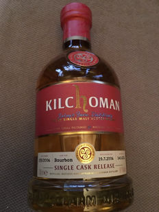 Kilchoman single cask 2006 - 61.6%