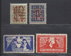 The Netherlands 1923 – Clearance issue and Toorop – NVPH 132/133 + 134/135