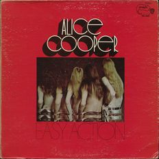 "Alice Cooper ""Easy action"" LP on 1970 STRAIGHT - 1st release - Weird Psych/rock/pop"