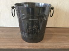 "Rare Bruno Wiskemann ""Berkeley"" art deco silver plate ice bucket"