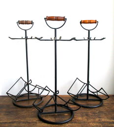 France - Set of 3 Wine-bottle & Wine-glass holders