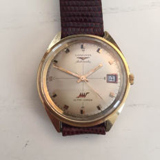 Longines Ultra Chron Gold – Oversized men's watch with date display