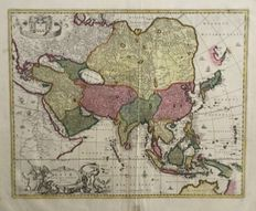Asia; Visscher - Asiae Nova Delineatio auctore N. Visscher - 1680