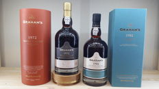 1972 (bottled in 2016) & 1982 (bottled in 2013) Colheita Port Graham's Single Harvest Tawny - 2 bottles
