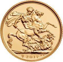 Great Britain - 1/2 Sovereign 2017 'Elizabeth II' - Gold