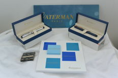 2 x fountain pens Waterman Graduate France New