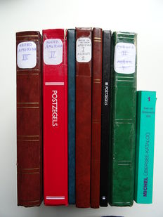 North and Middle America - Collection in 7 stock books with matching catalogue