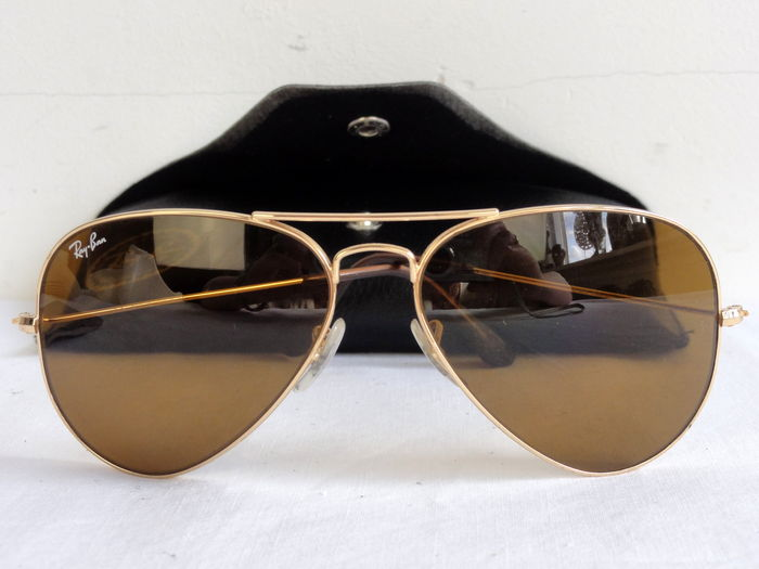 Ray-Ban - sunglasses - Aviator type - including storage case - unisex