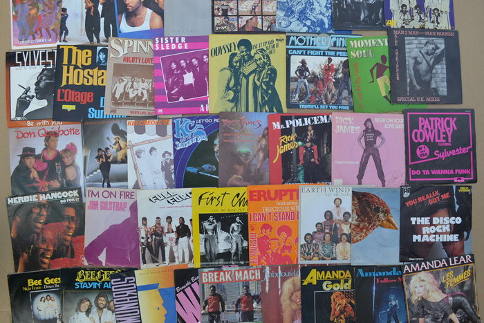 Nice lot of 41 disco/dance singles from the 70's and 80's