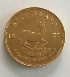 South Africa – 1 krugerrand 1975 – 1oz Gold