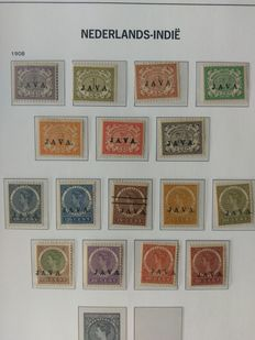 The Netherlands East Indies and New Guinea – Collection in Davo LX album