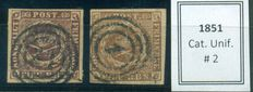 Denmark 1851/1946 - Collection of 344 early stamps