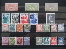 The Netherlands 1906/1946 – Selection including Tuberculosis & Child coil perforation