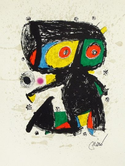 Joan Miró - Poligrafa XV years