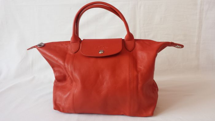 Longchamp - Hand bag - Le Pliage Cuir