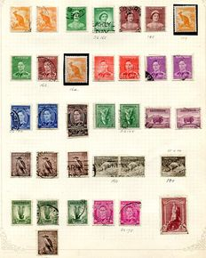 Australia - collection to 1966 including representative selection of Australian States and some Postage Dues.
