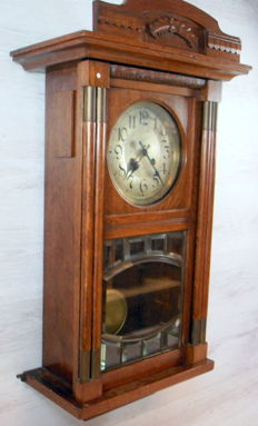 Bimbammer box regulator clock - Exact II - Record W. Germany - 1st half 20th century