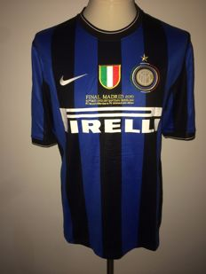 Wesley Sneijder / Inter. Champions League final shirt 2010 Inter vs Bayern München, Player version.