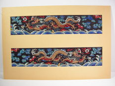 A pair of court sleeve bands – China – late 19. century