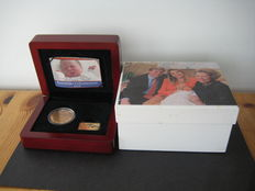 "The Netherlands, 50 euro coin, 2004, ""birth coin"", gold"