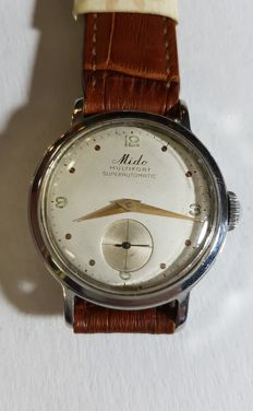 Mido Multifort Super Automatic, men's watch - 1950s